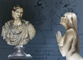 Zwischen Surrealismus und Hyperrealismus Die Bilderwelt des belgischen Malers Roland Delcol Von Prof. Dr. med. Axel Hinrich Murken