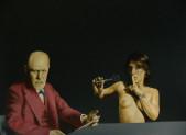 La postmodernité de l'œuvre de Roland Delcol.